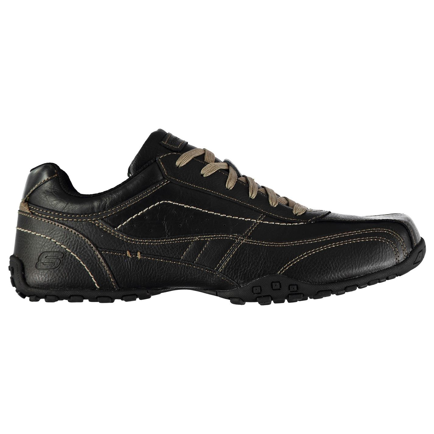 Skechers Schuhes  Uomo Citywalk El Schuhes Skechers Casual Lace Up Padded Ankle Collar Comfortable 5ca754