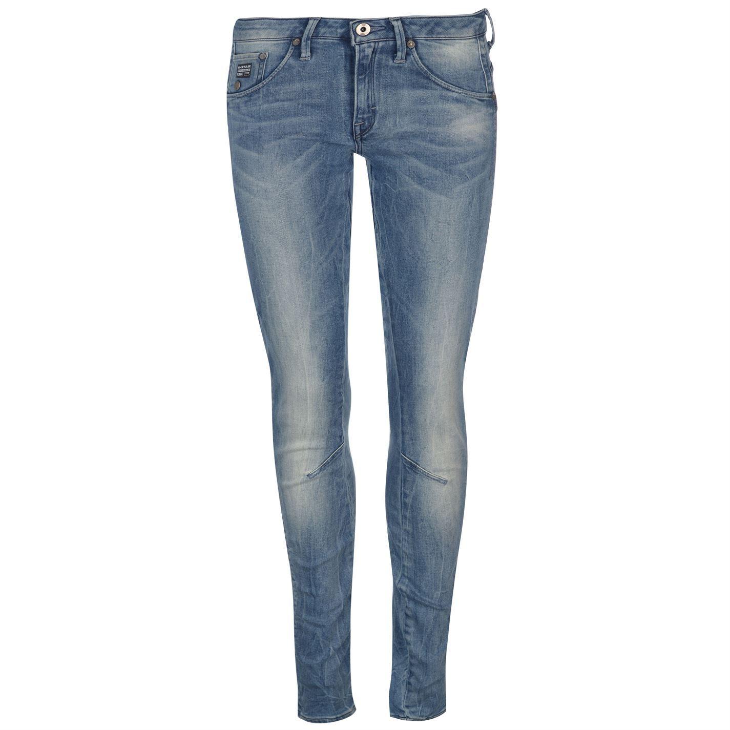 G-Star-Womens-Arc-3D-Super-Skinny-Jeans-Pants-Trousers-Bottoms-Zip