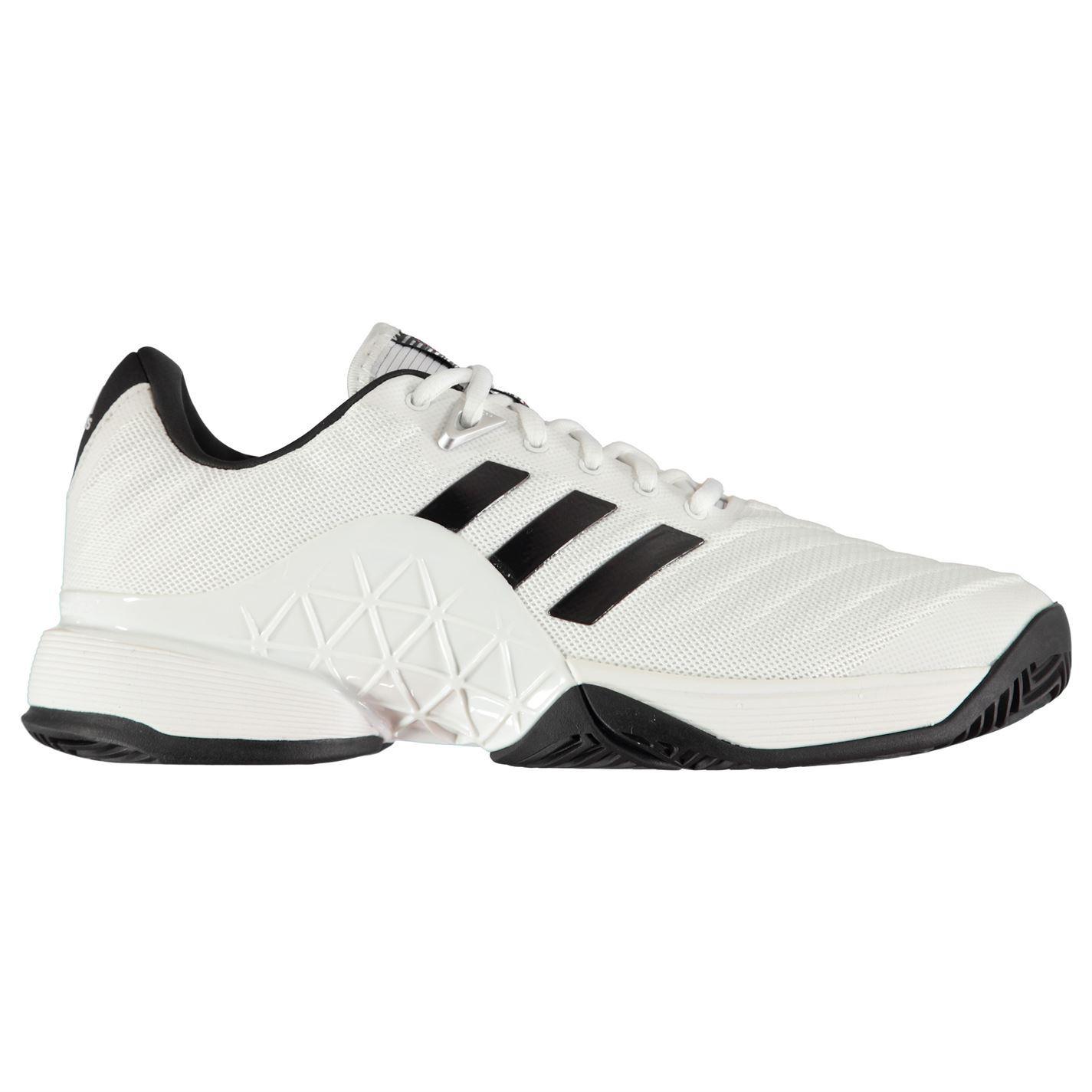 Adidas pour homme Barricade 2018 All Court Chaussures de tennis à lacets Respirant Maille Haut-