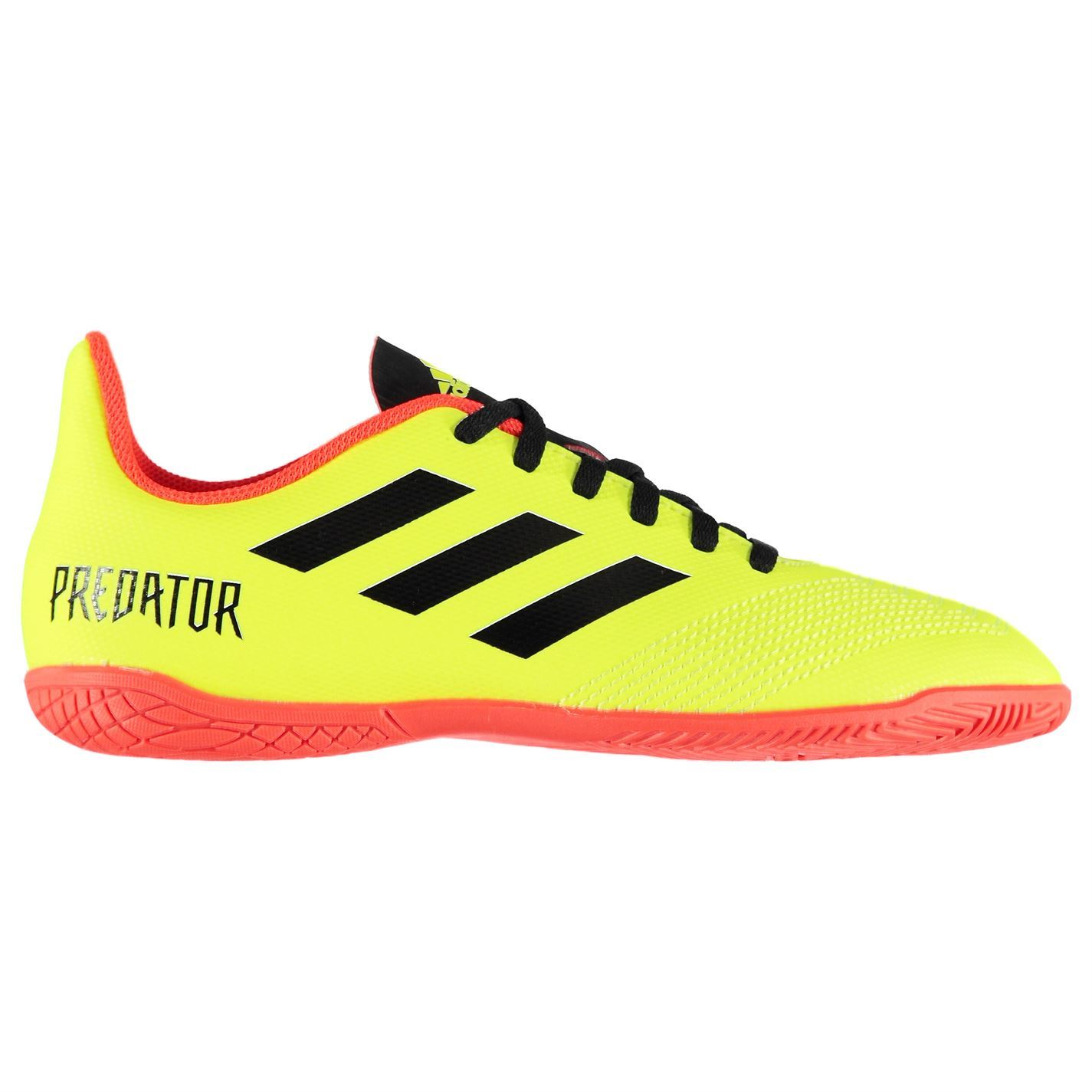 fea22578c55d adidas Kids Predator Tango 18.4 Junior Indoor Football Trainers Boots Lace  Up