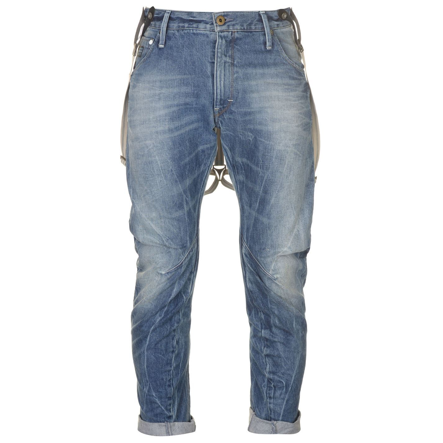 G-Star Raw Jeans Arc 3d Loose Tapered Braces Oligo Denim W30 L34   eBay 77da0faa53