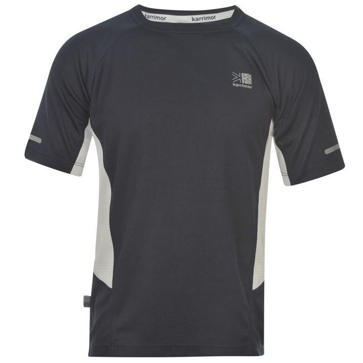 Karrimor Kids Short Sleeved Running T Shirt Juniors Boys Breathable ... c790ceea768c9