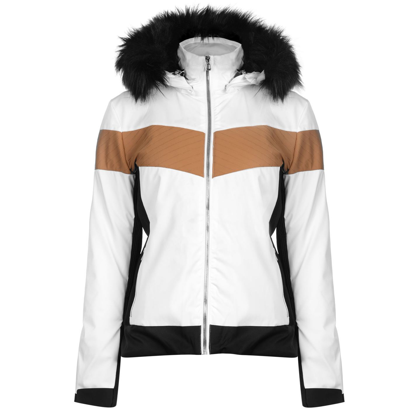 9f3b132bd6 Take the slopes in style with this Ladies Nevica Banff Ski Jacket which has  been integrated with elasticated panelling to promote freedom of movement