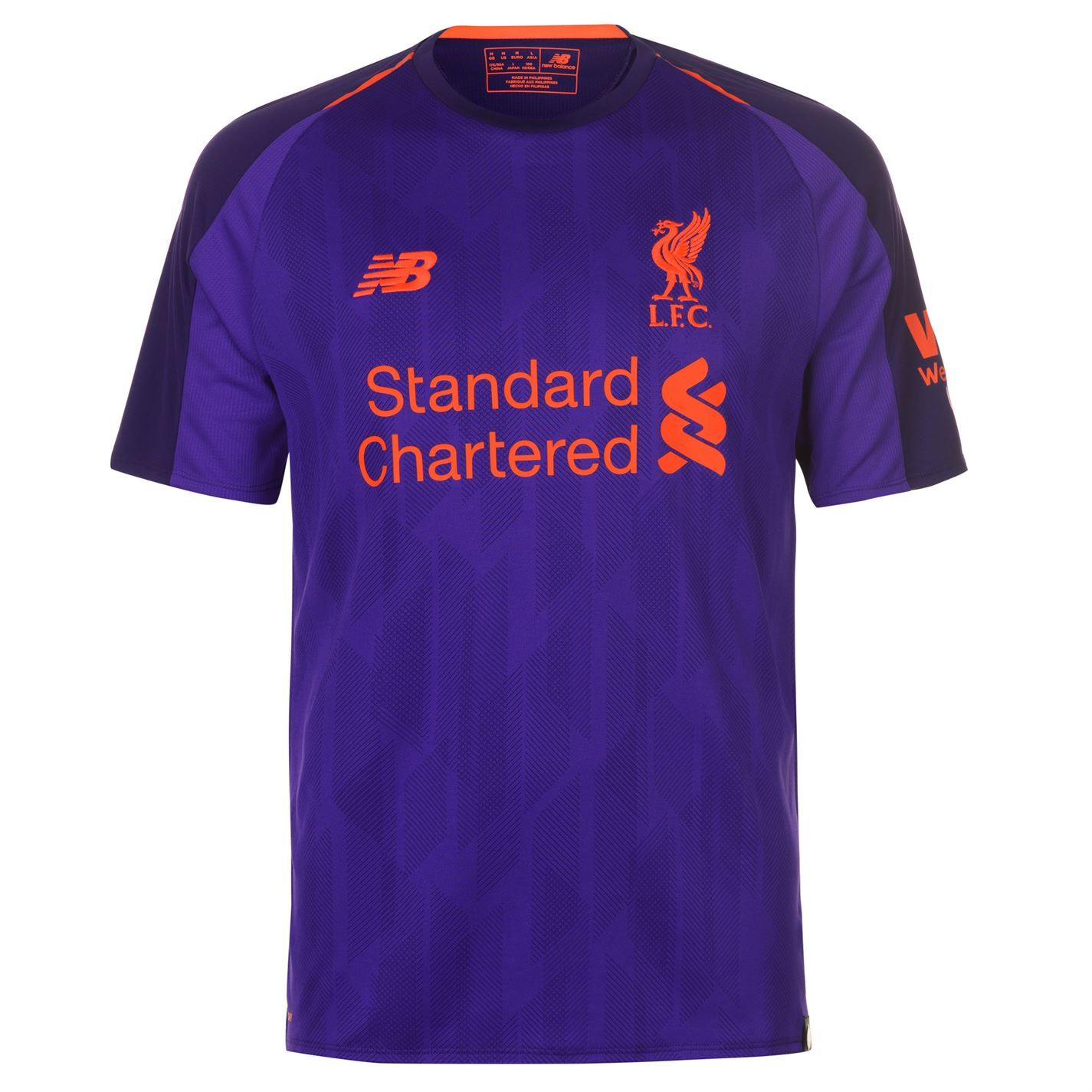 1cc494ece This New Balance Liverpool Away Shirt 2018 2019 has been developed with  NBdry technology which delivers moisture wicking comfort throughout your  game