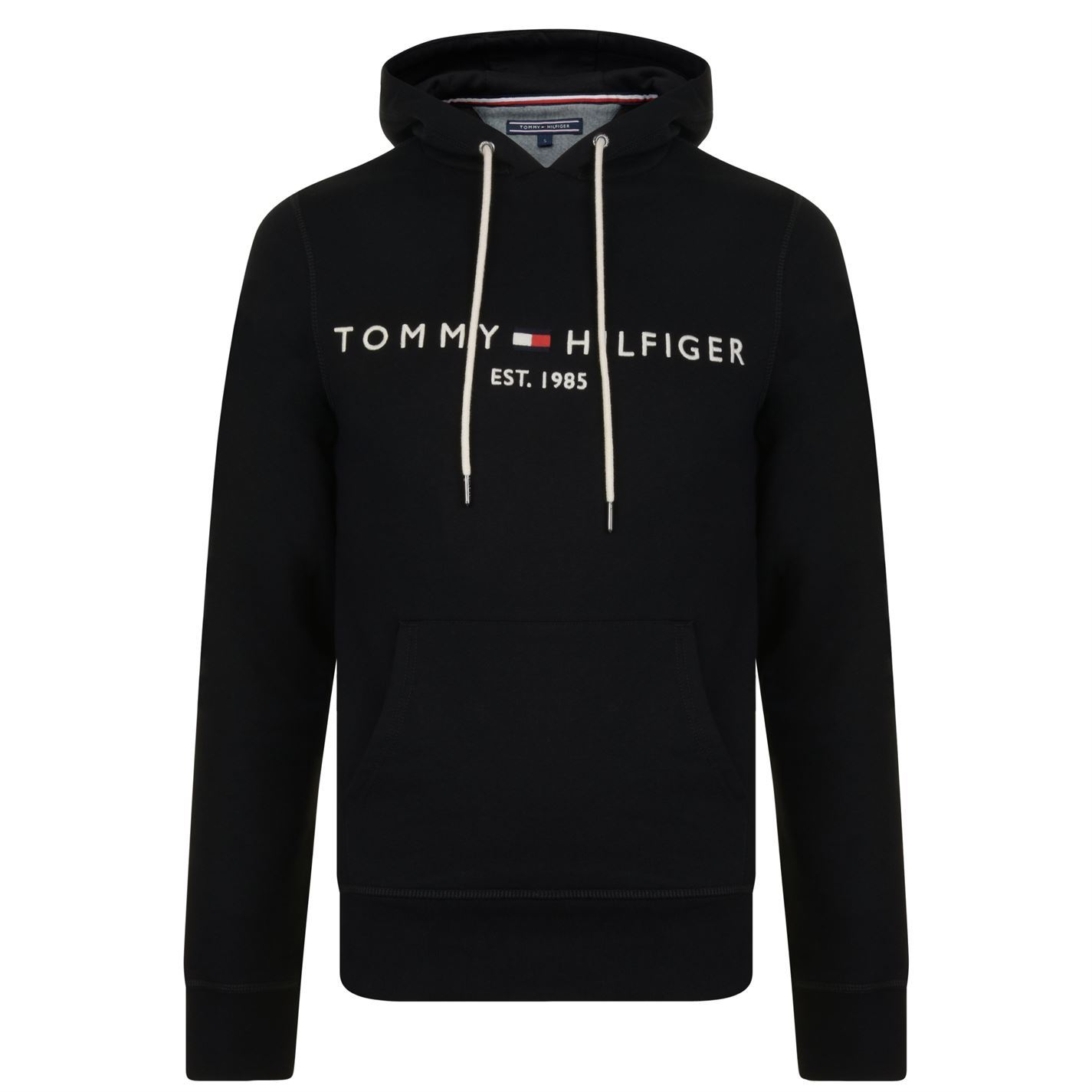 Mens-TOMMY-HILFIGER-Logo-Hooded-Sweatshirt-OTH-Hoodie-New