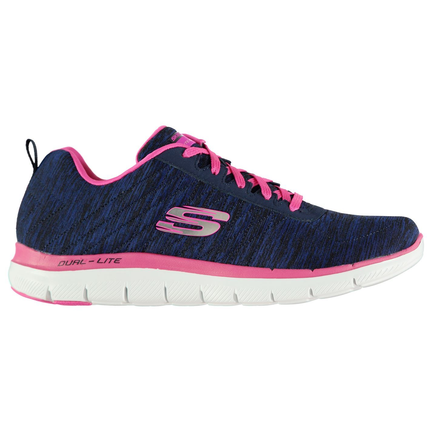 Skechers Womens Flex Appeal Up Trainers Runners Shoes Lace Up Appeal Breathable dba777