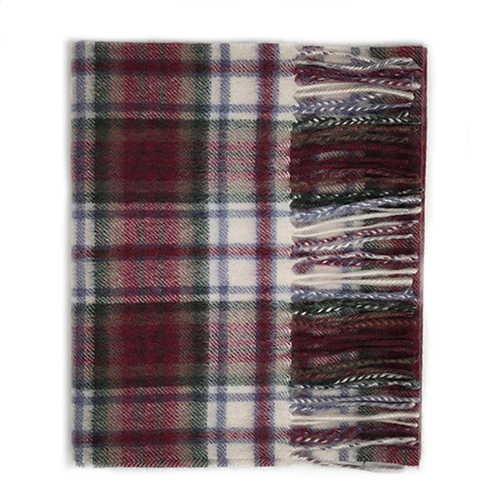 Kiltane-of-Scotland-5-Cashmere-95-Lambswool-Multicolour-Scottish-Tartan-Scarf thumbnail 5