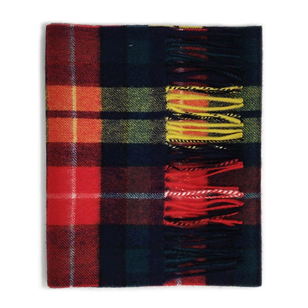 Kiltane-of-Scotland-5-Cashmere-95-Lambswool-Multicolour-Scottish-Tartan-Scarf thumbnail 7