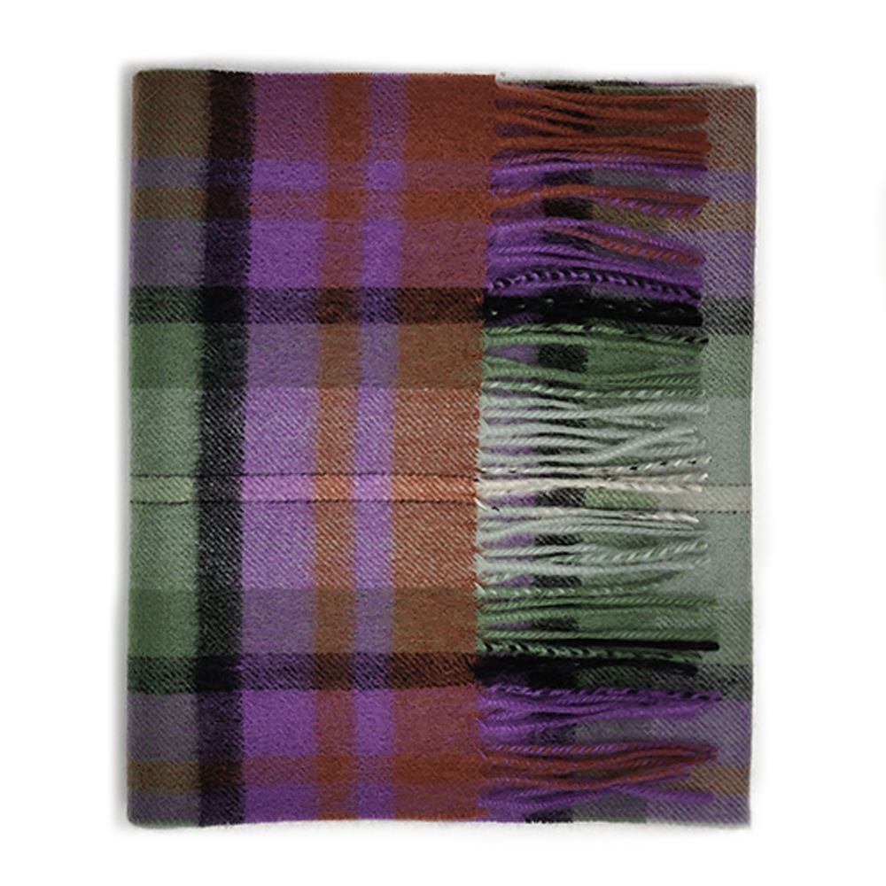 Kiltane-of-Scotland-5-Cashmere-95-Lambswool-Multicolour-Scottish-Tartan-Scarf thumbnail 6