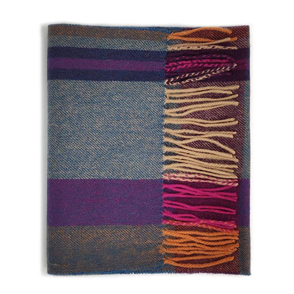 Kiltane-of-Scotland-5-Cashmere-95-Lambswool-Multicolour-Scottish-Tartan-Scarf thumbnail 12