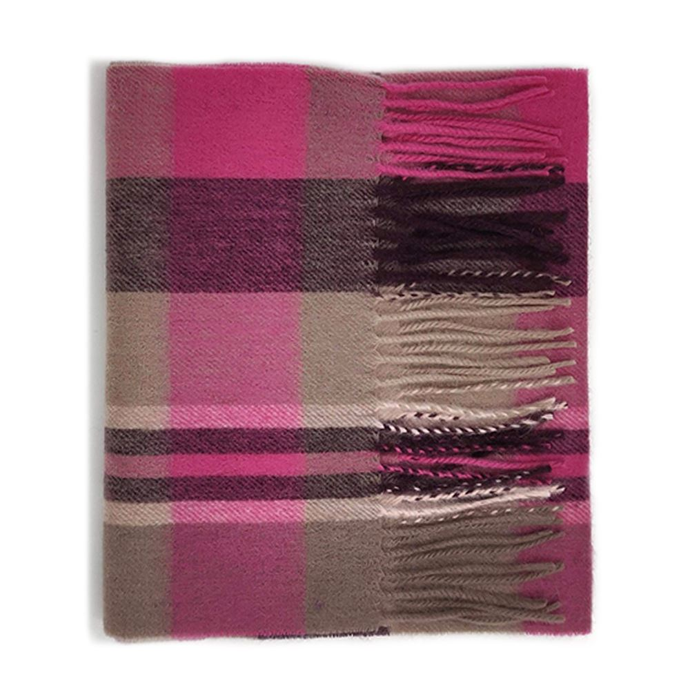 Kiltane-of-Scotland-5-Cashmere-95-Lambswool-Multicolour-Scottish-Tartan-Scarf thumbnail 9
