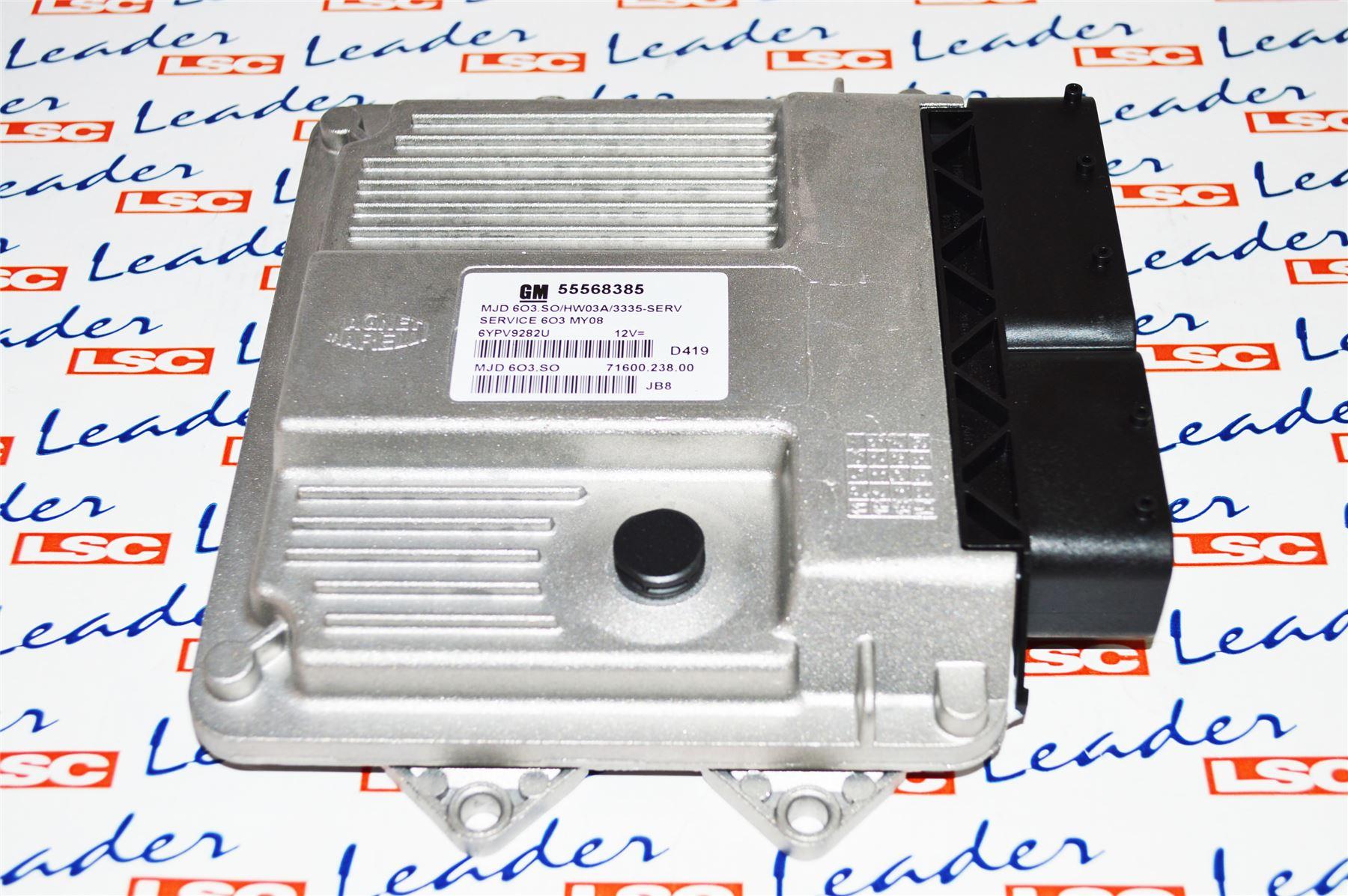 Details about GENUINE Vauxhall Corsa D 1 3 TD ECU / Engine Control Unit -  NEW - 55568385