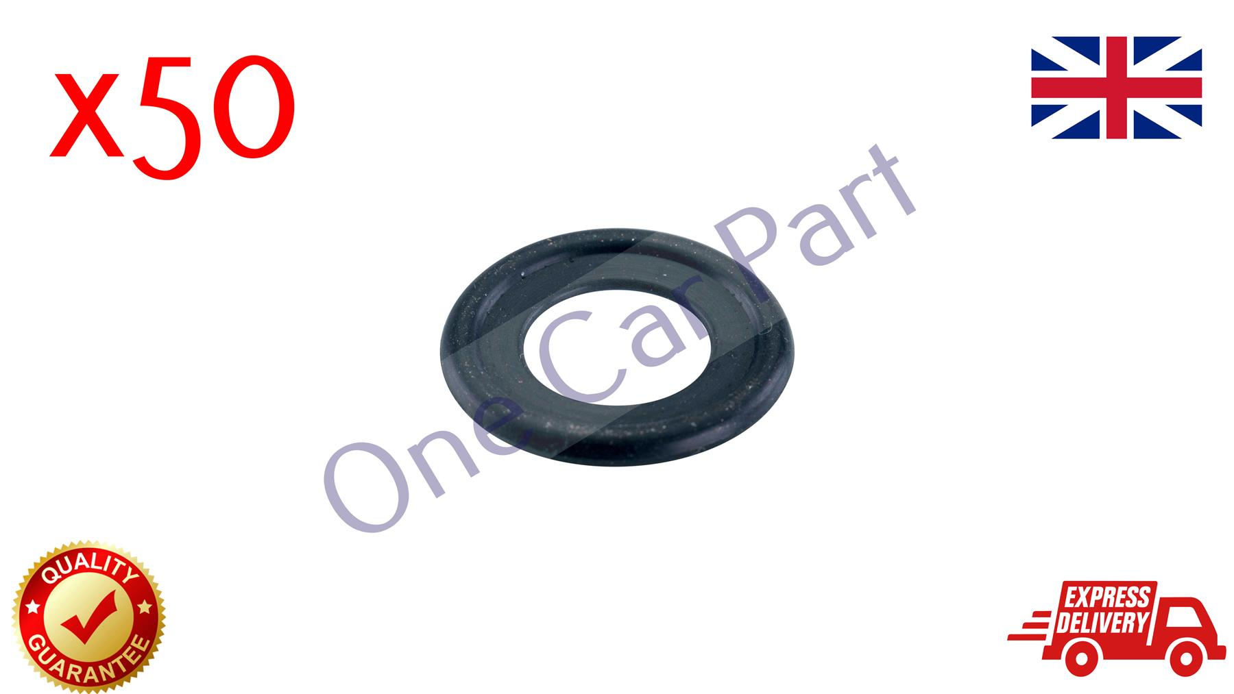 3 Pieces SUMP OIL DRAIN PLUG WASHER SEAL OPEL VAUXHALL 0652526S3 NEW