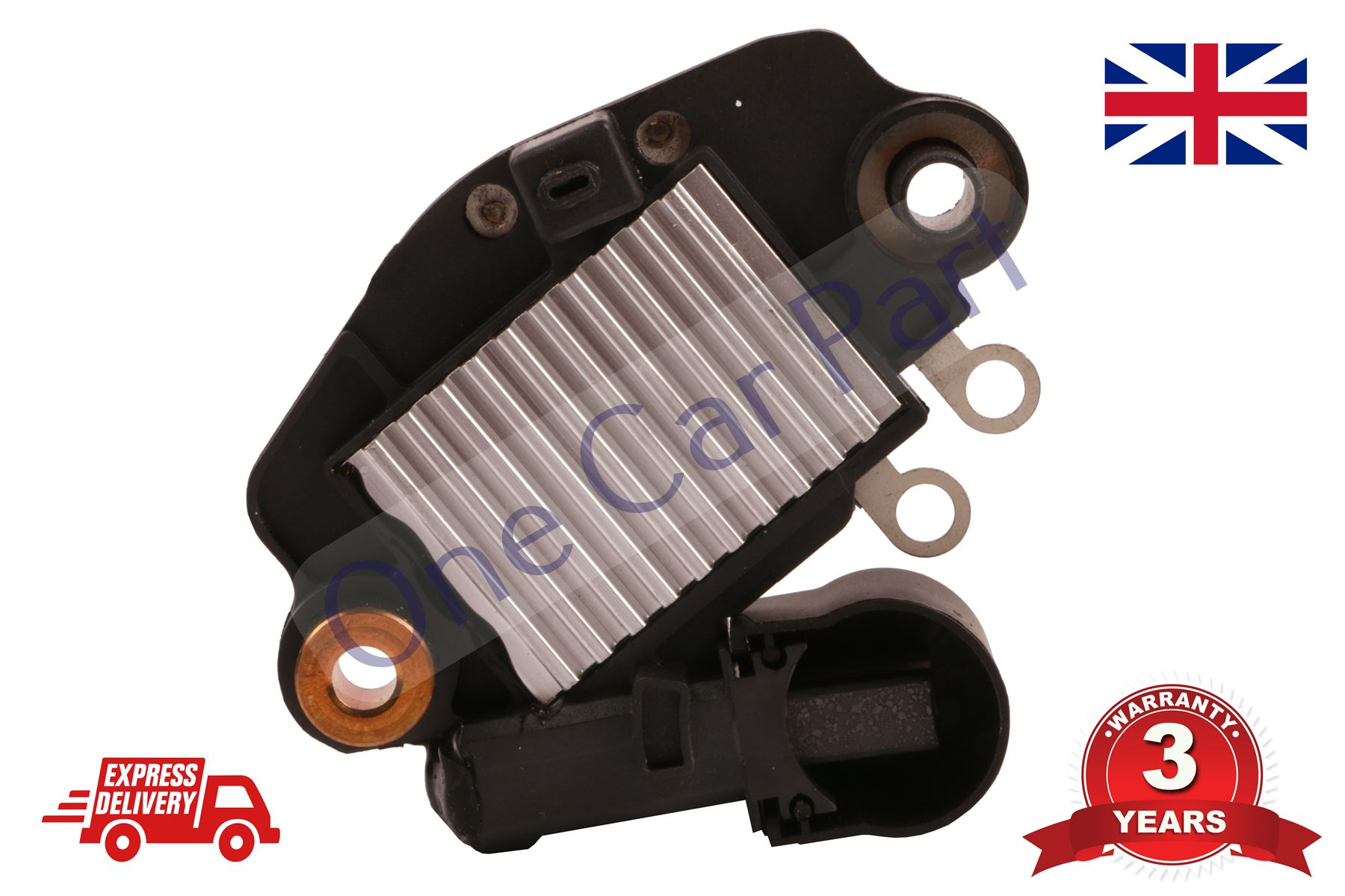 12V ALTERNATOR VOLTAGE REGULATOR BRUSH BOX RENAULT CLIO VOLVO ROVER 139456