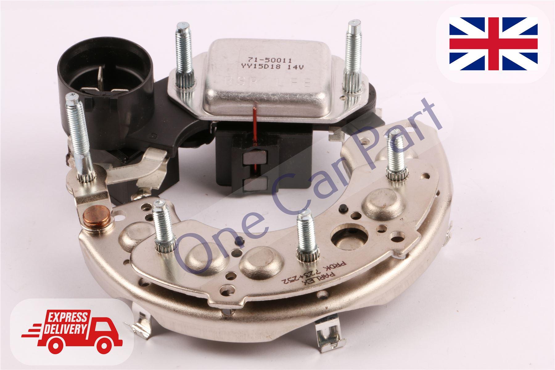 Mobiletron JEEP CHRYSLER alternateur redresseur 12-50 amp diodes M8 117mm batterie