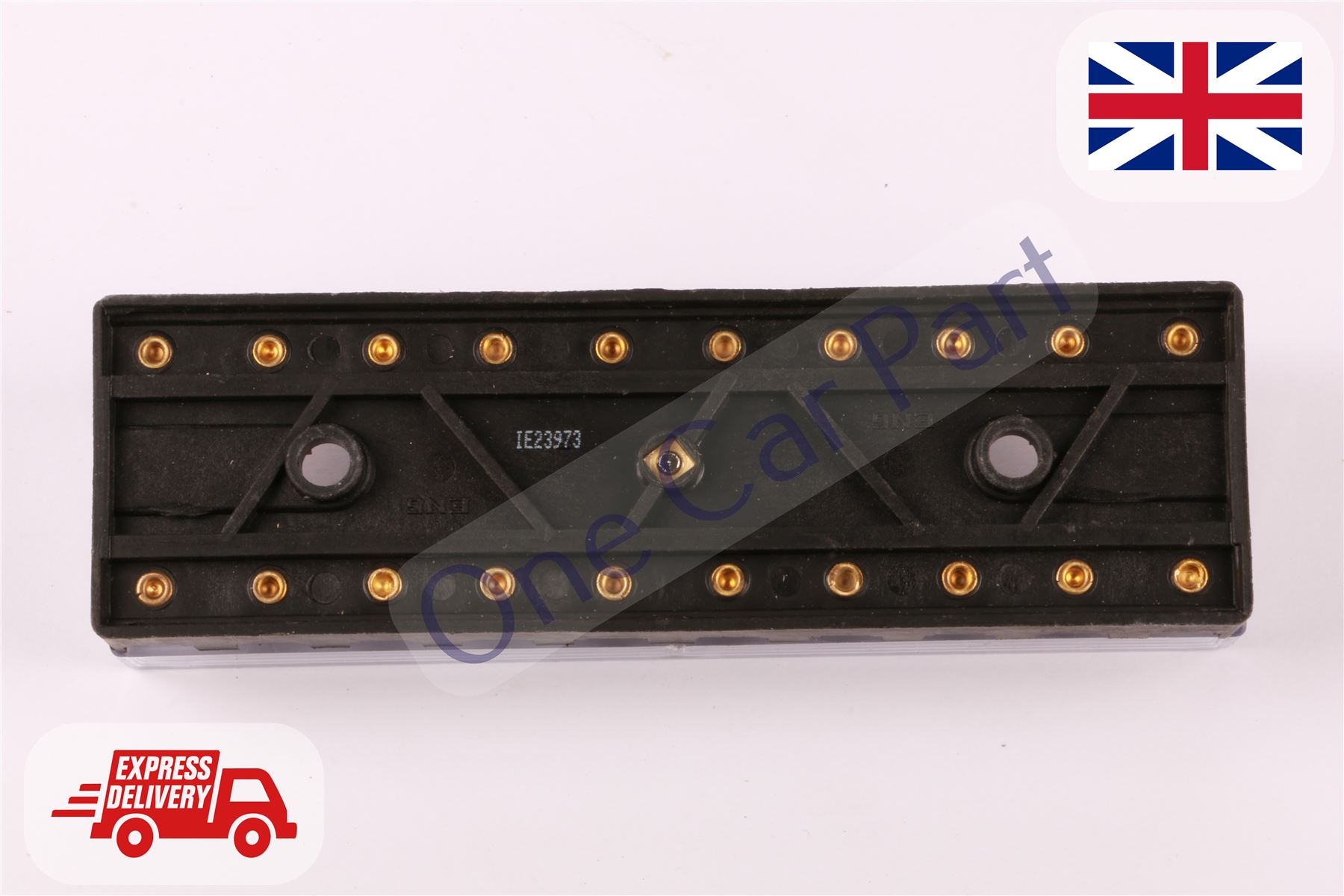 10 WAY CERAMIC TORPEDO CONTINENTAL FUSE BOX HOLDER CLASSIC CAR 6V 12V 24V  VOLT
