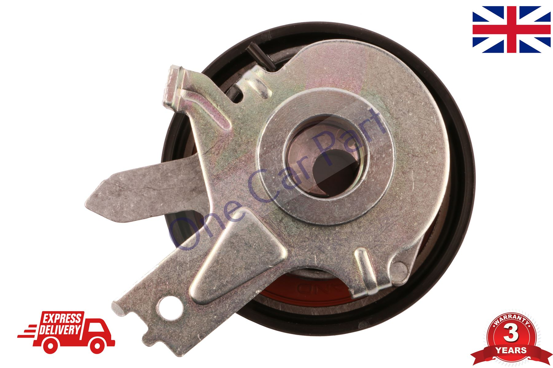 E12 1.5D 2006 on Drive V-Ribbed INA New Aux Belt Tensioner fits NISSAN NOTE E11