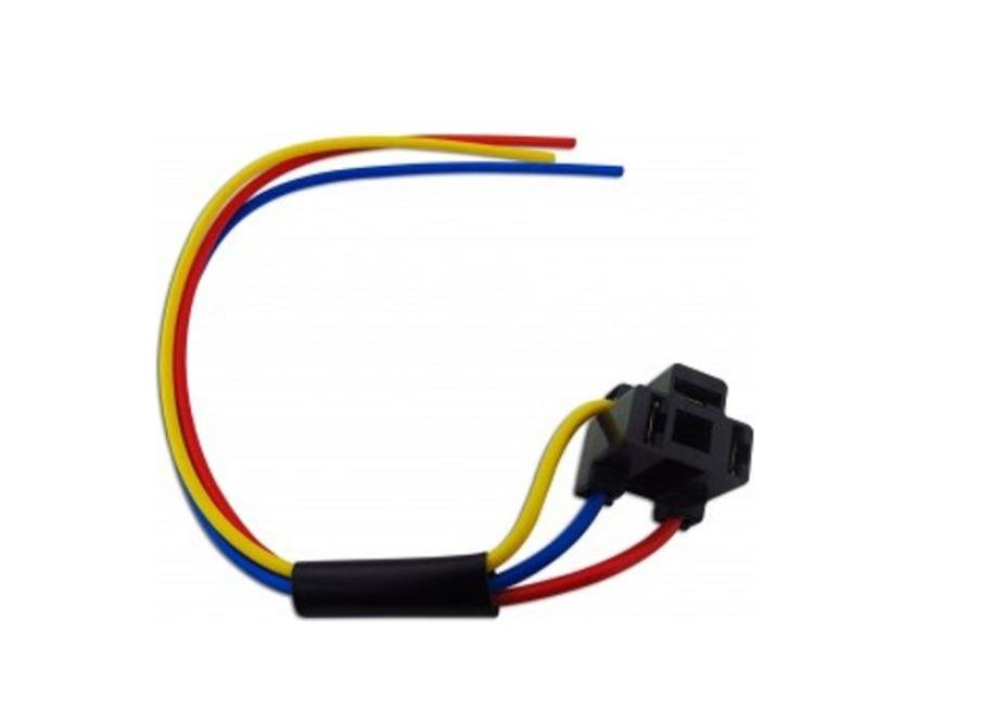 2X NEW H4 Headlight Headlamp 3 Pin Bulb Repair Plug Connector