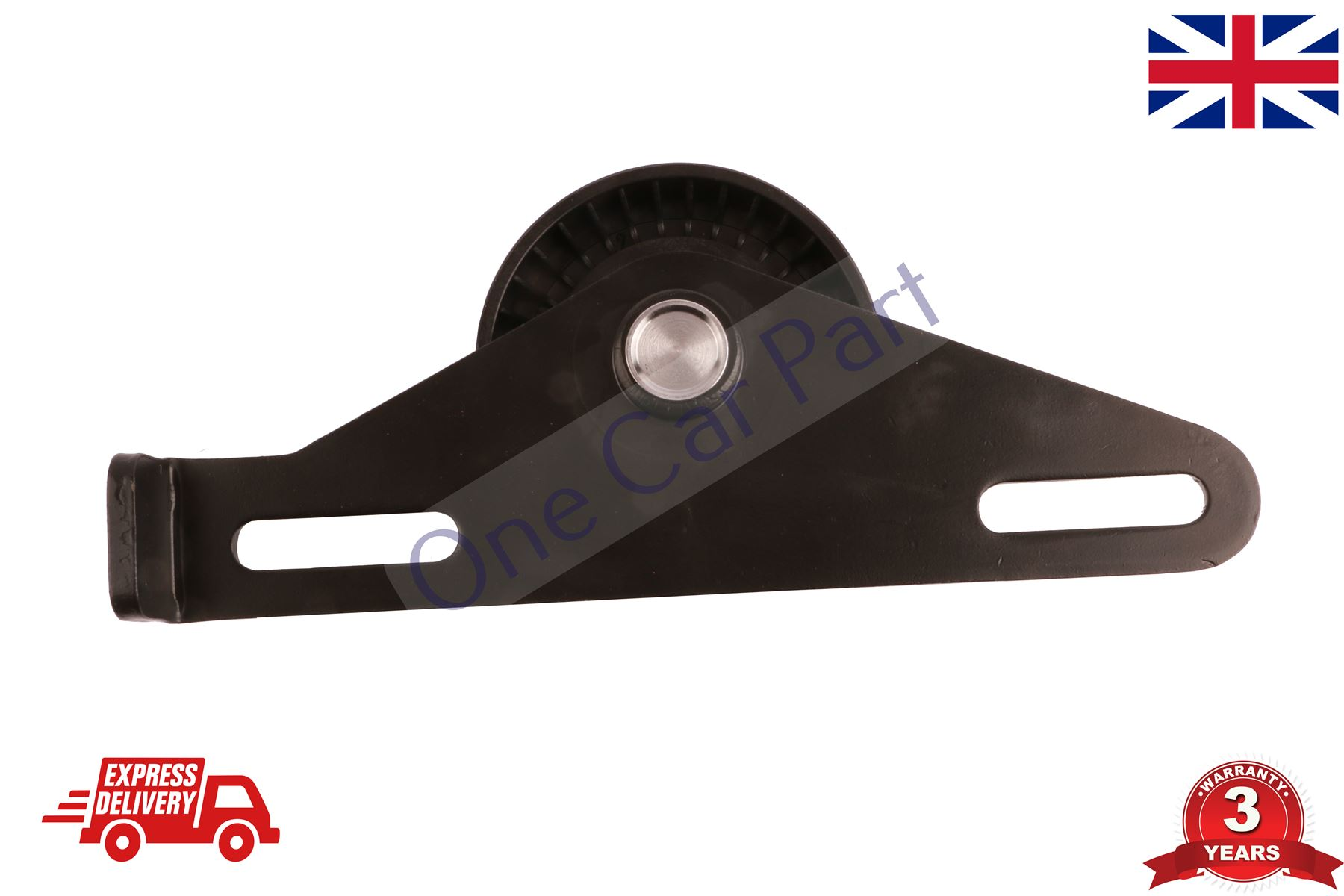 RENAULT CLIO Mk2 1.4 Aux Belt Tensioner 98 to 05 Drive V-Ribbed 7700105325