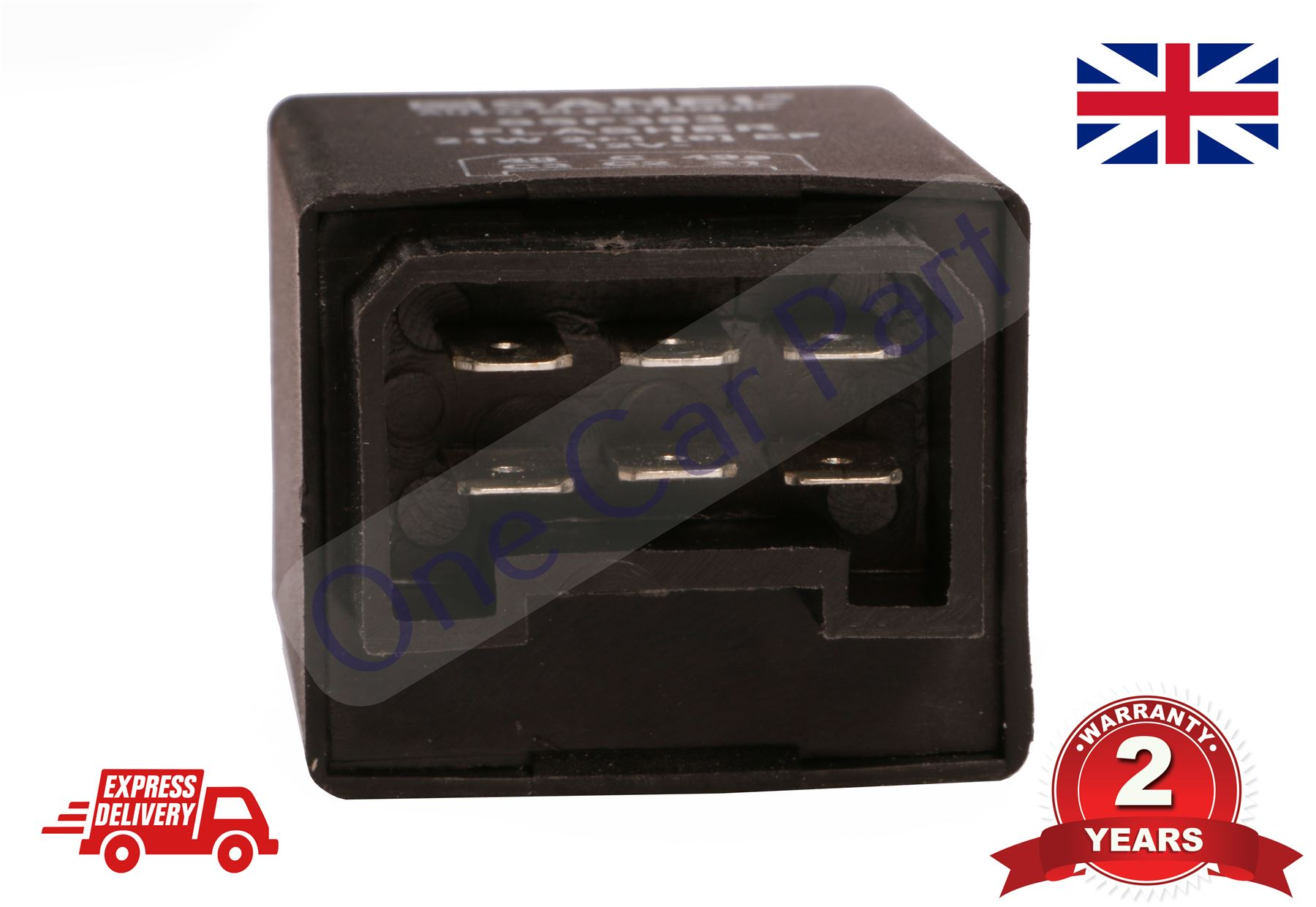 TRACTOR 12V 6 PIN FLASHER INDICATOR RELAY UNIT MASSEY FERGUSON FORD ...