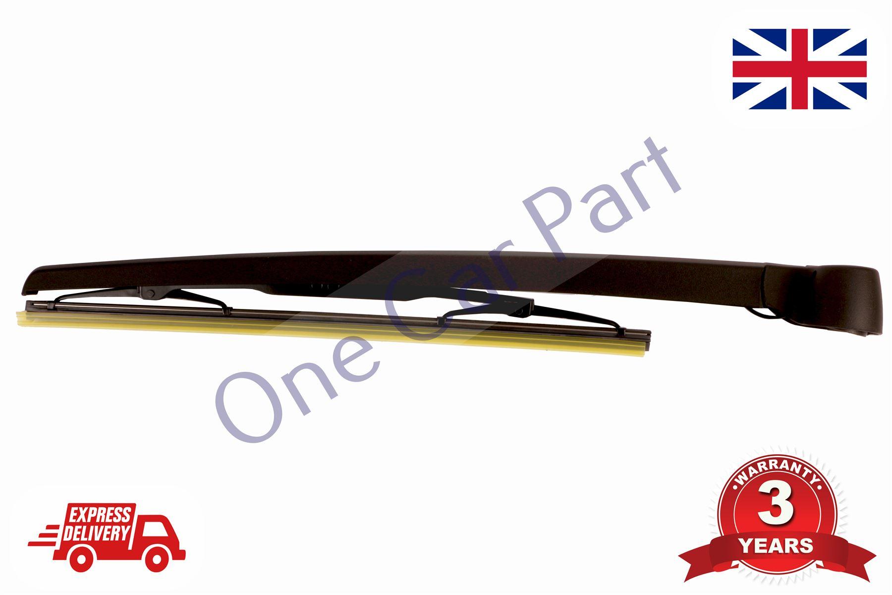 audi a3 8p1 8pa 2003 2013 hatchback rear wiper arm blade. Black Bedroom Furniture Sets. Home Design Ideas