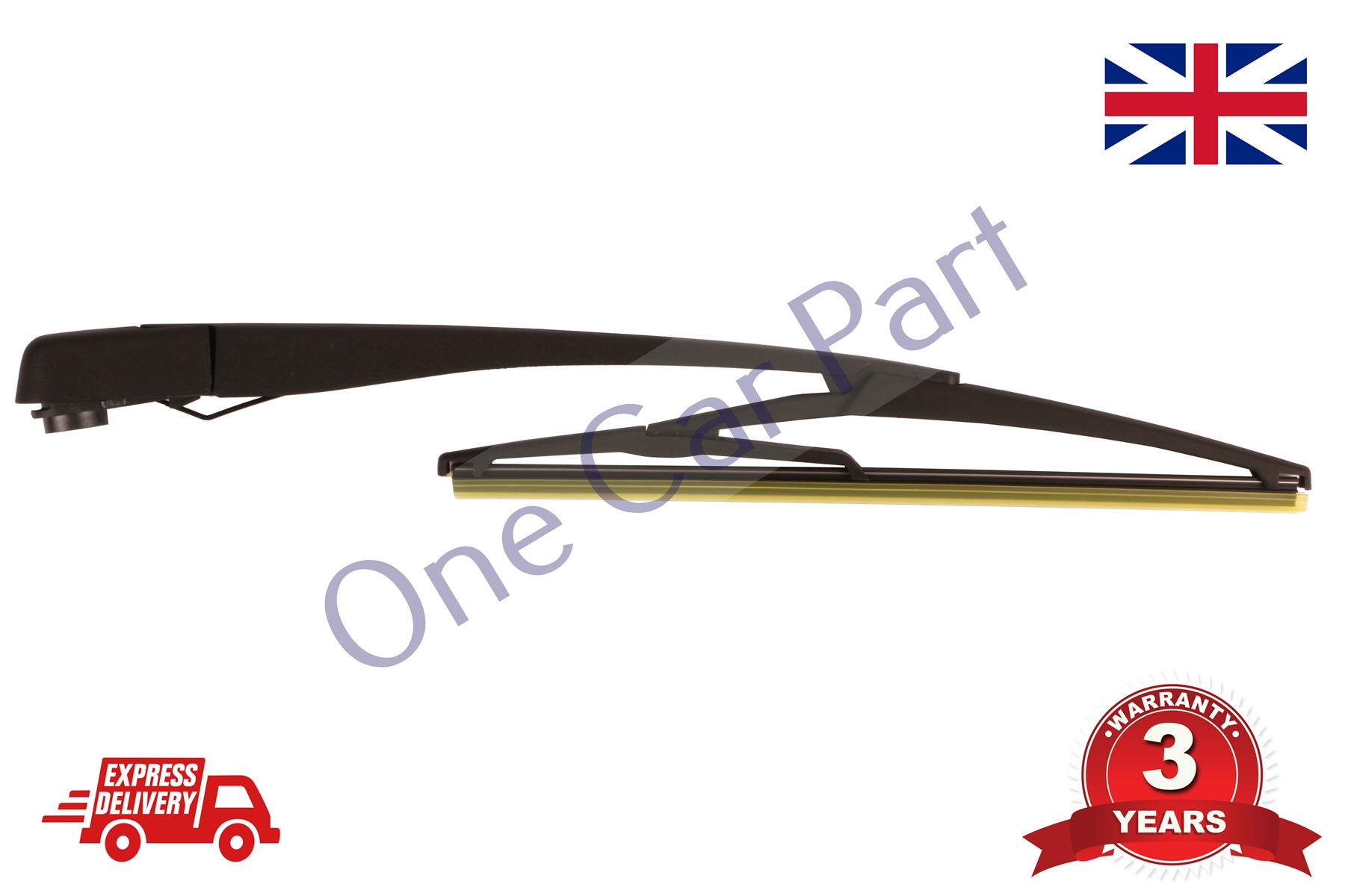 Rear Windscreen Wiper Blade and Arm Set Fits Vauxhall Corsa D Hatchback MK4