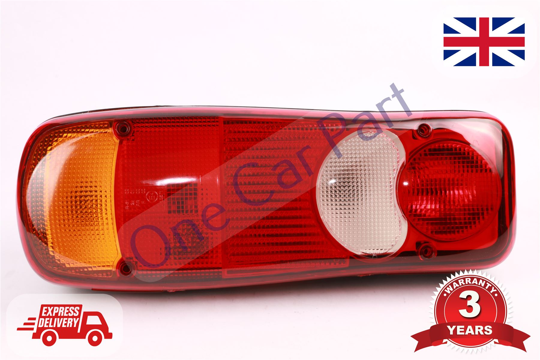 LC5 REAR TAIL LAMP LIGHT LENS CITROEN JUMPER DAF LF BOBCAT VOLVO FE FL RENAULT