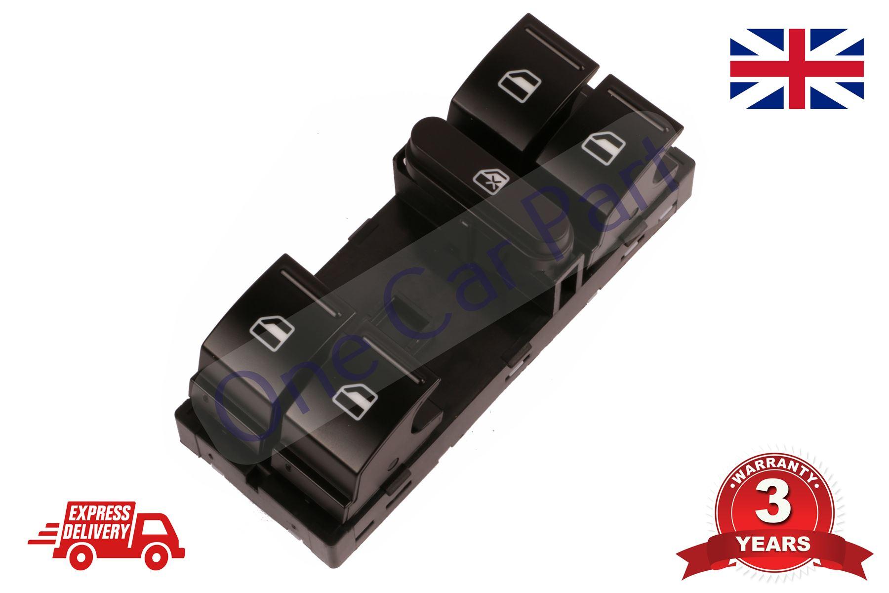 Main Power Window Control Switch 10 Pin for Skoda Octavia 2004-2015