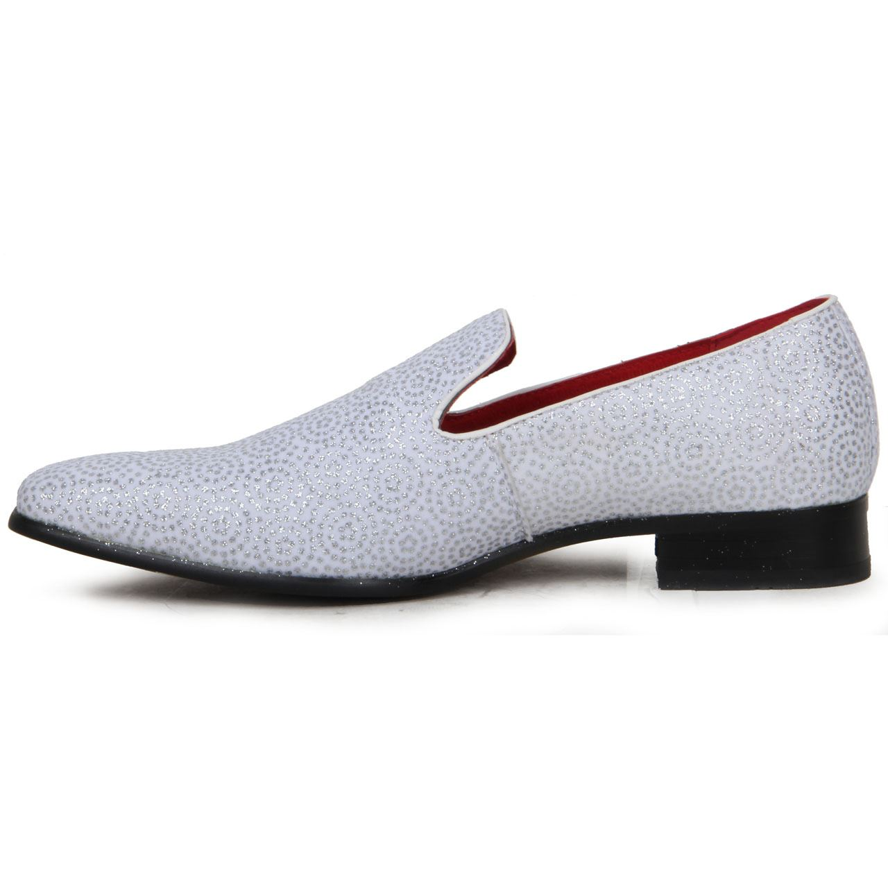 Black Leather Slip On Jazz Shoes