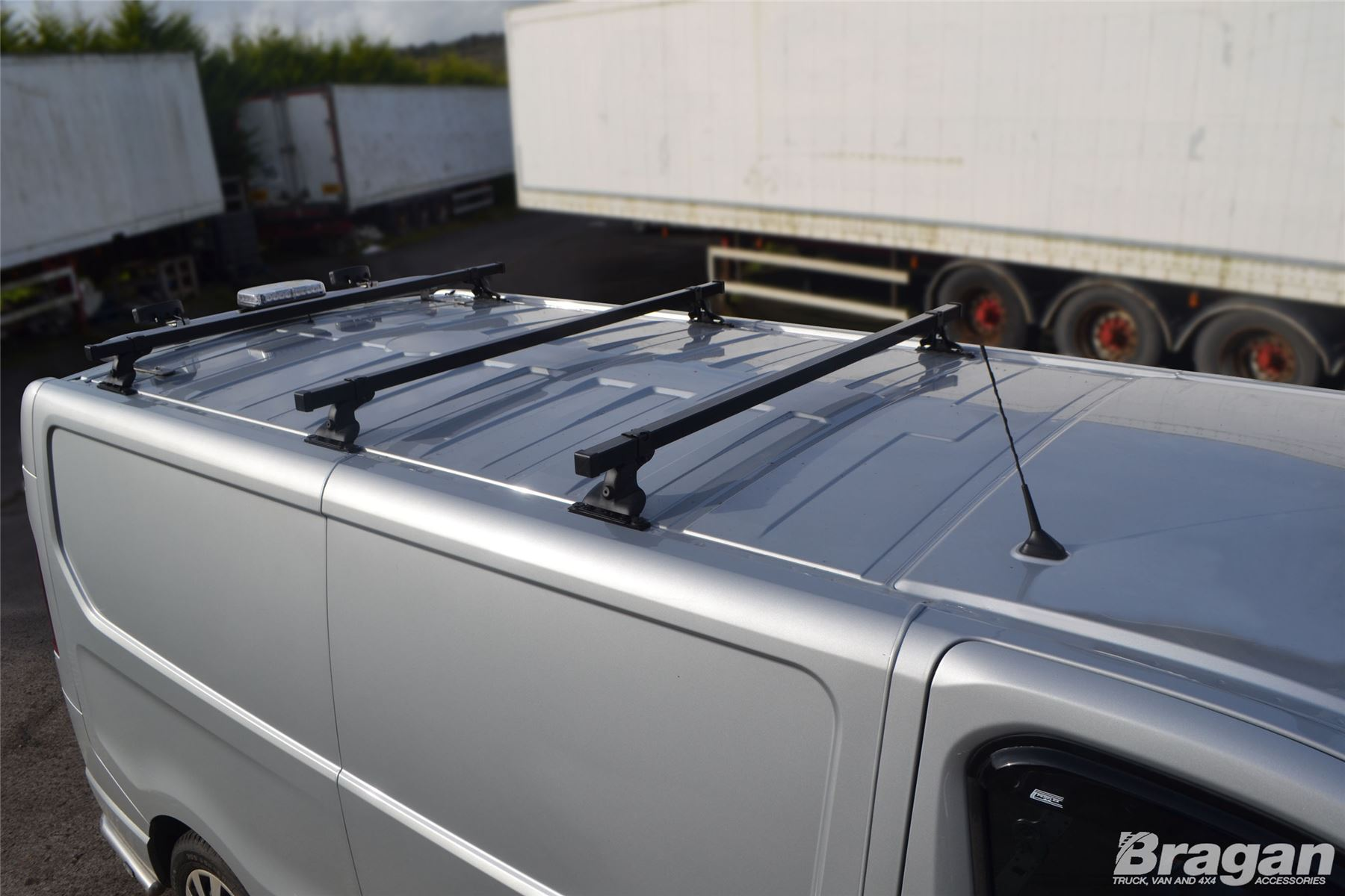 To Fit 2016-2019 Citroen Berlingo Steel Roof Rack Bars Rails 3 Bar System Set