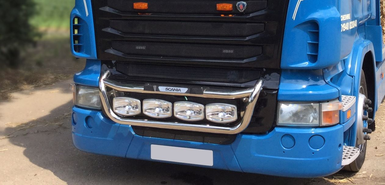 To fit 09 scania p g r 6 series grill light bar c jumbo spot to fit 09 scania p g r 6 series grill light bar c jumbo spot step pad led aloadofball Choice Image