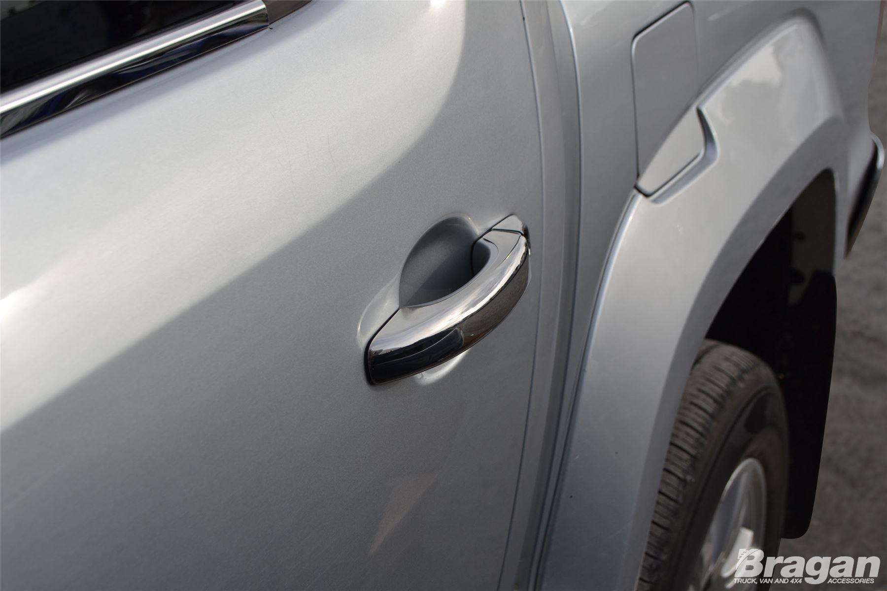 To Fit 2006-2014 Volkswagen Crafter Chrome Door Handle Cover Trim Piece 8pce Set