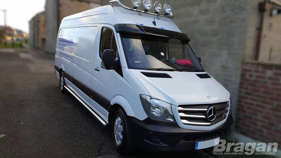 To Fit 2006 2014 Mercedes Sprinter Tinted Acrylic Sun