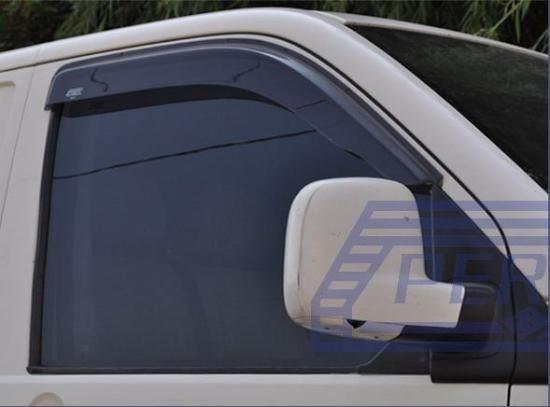 Vent Pluie Soleil Smoke Guard Déflecteurs 2pcs pour FIAT DOBLO MK2 2//3 PORTES 2010 Sur