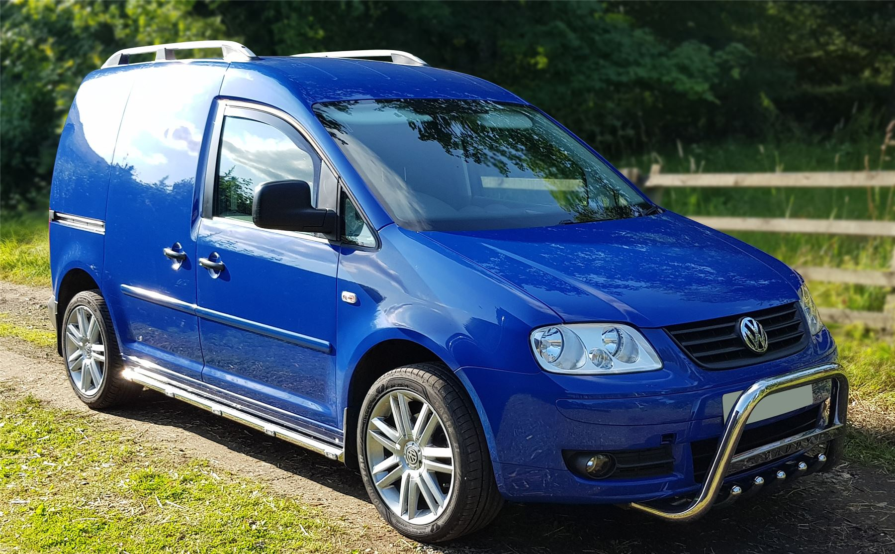 Spiksplinternieuw To Fit 2004 - 2010 VW Caddy Maxi Side Bars Steps Running Boards + EP-97