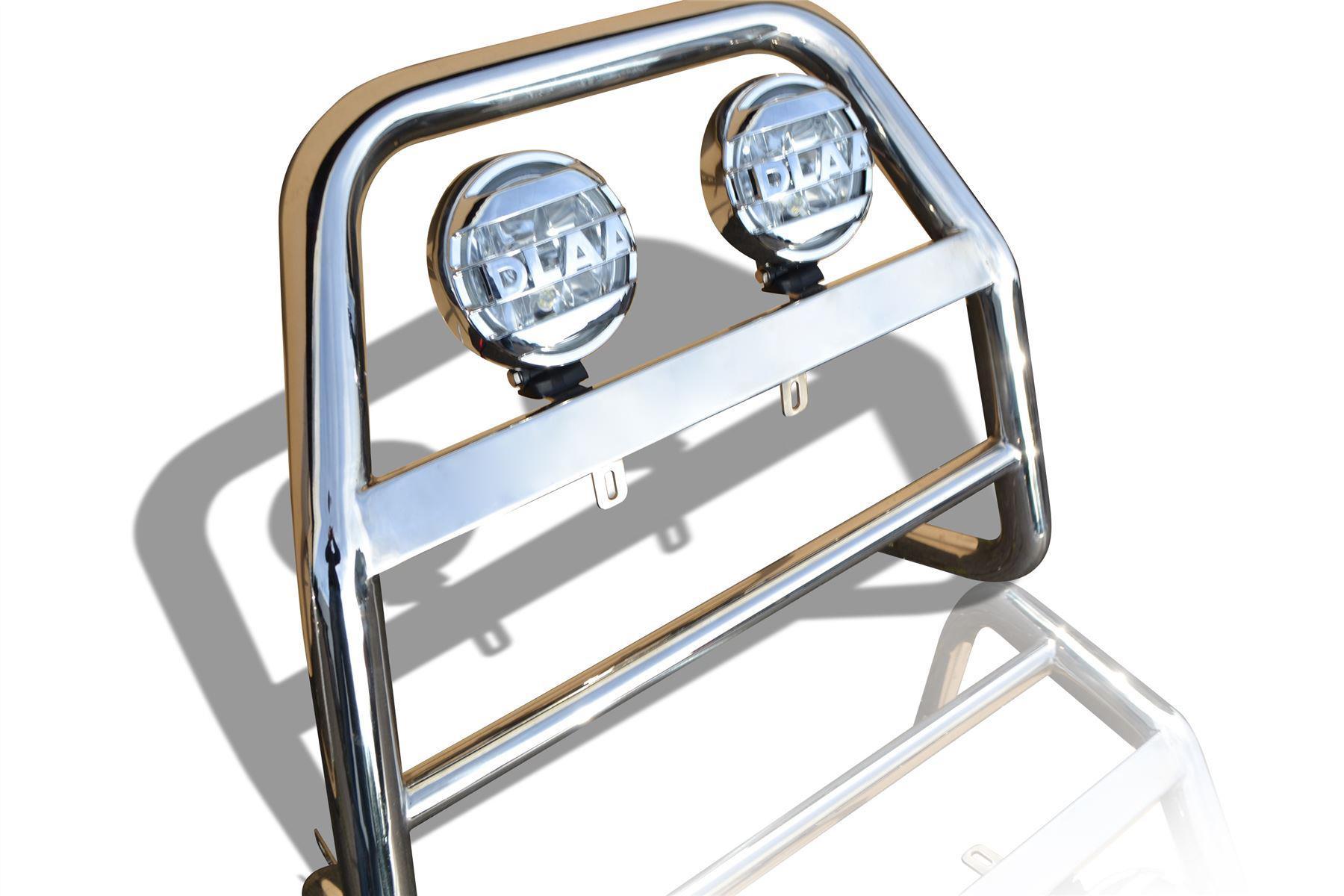 "6.5/"" Chrome Spots x2 To Fit Ford Ranger 2012-2016 A Bar Bumper Bar Bullbar"