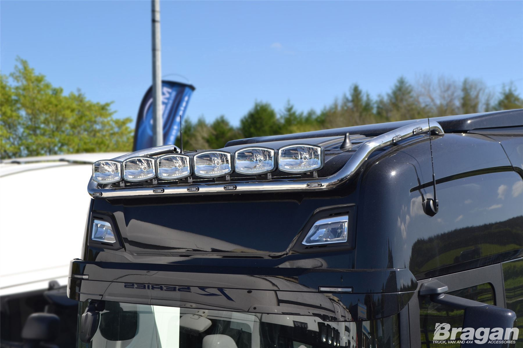 Details about To Fit New Generation 2017+ Scania R & S Series High Cab Roof  Light Bar + LEDs