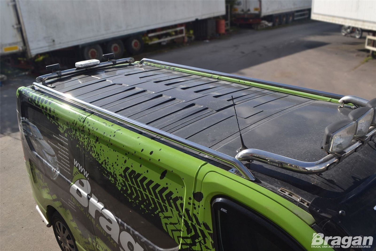 To Fit 2002-2014 Vauxhall Opel Vivaro LWB Steel Roof Rack Rails Matte Black