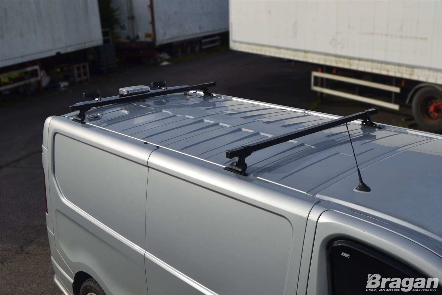 To Fit 2002 2014 Renault Trafic Roof Rack Bars Rail 2