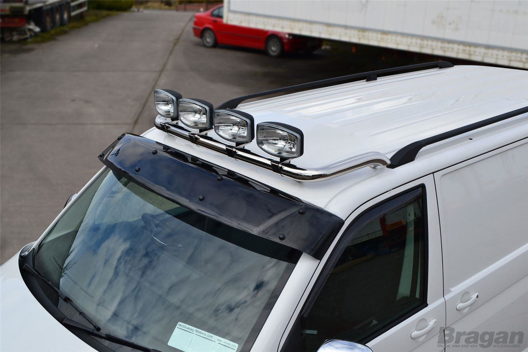 To fit 2007 2016 citroen jumpy stainless steel flat roof light bar item specifics aloadofball Images