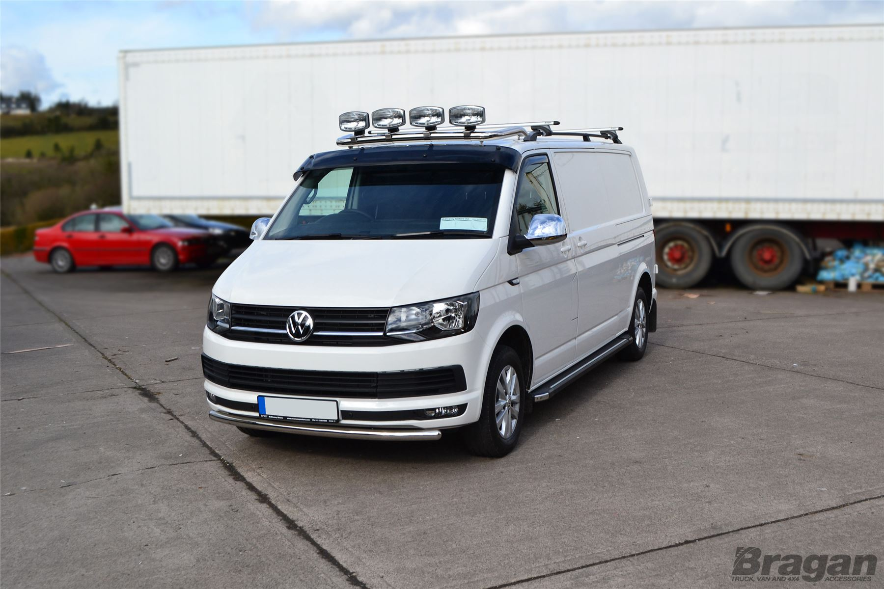 to fit 2015 vw transporter t6 caravelle steel front. Black Bedroom Furniture Sets. Home Design Ideas