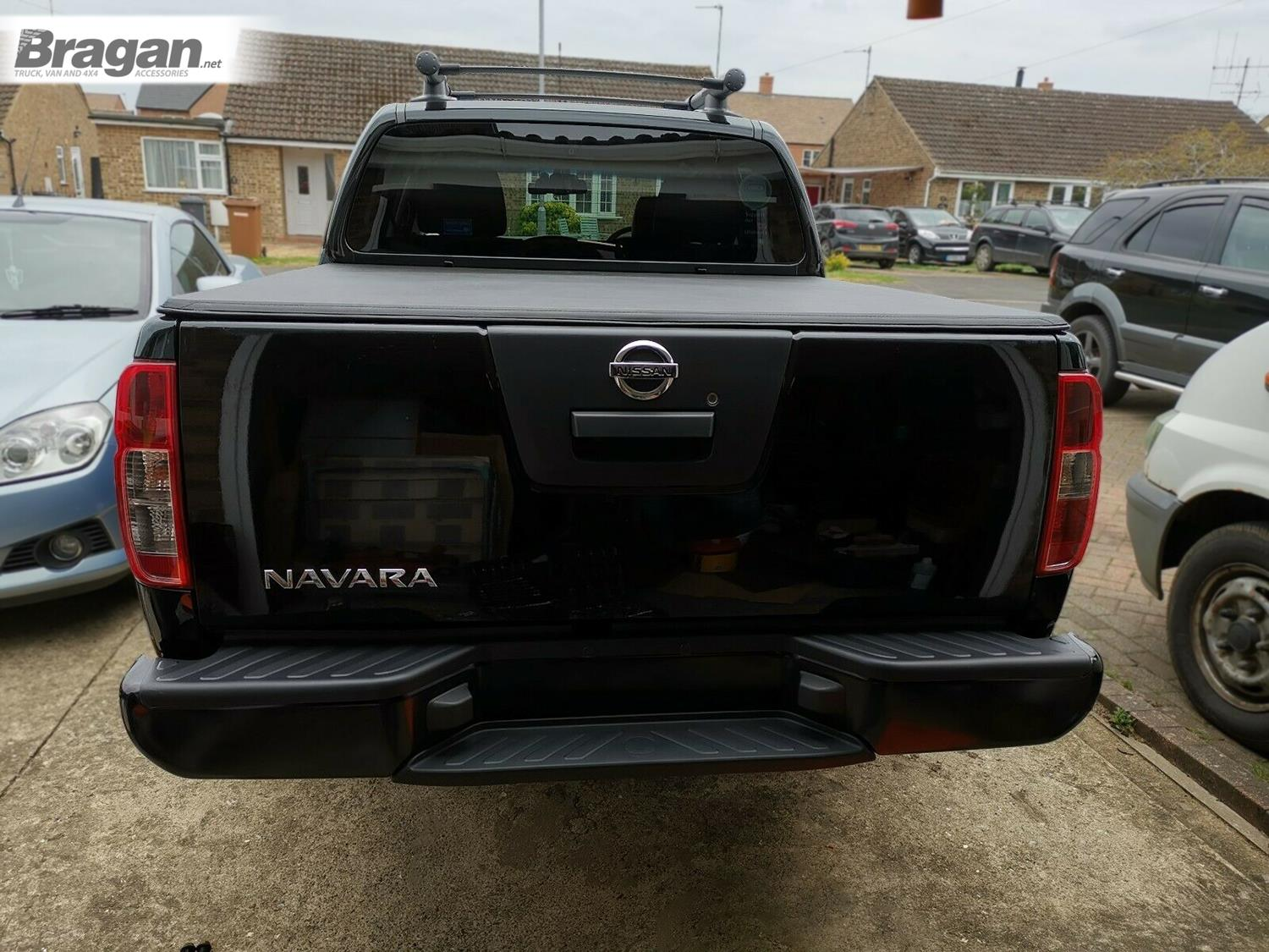 Rear Bumper For Nissan Navara D40 2005 2016 Back Step Guard Steel Black 4x4 617201255643 Ebay