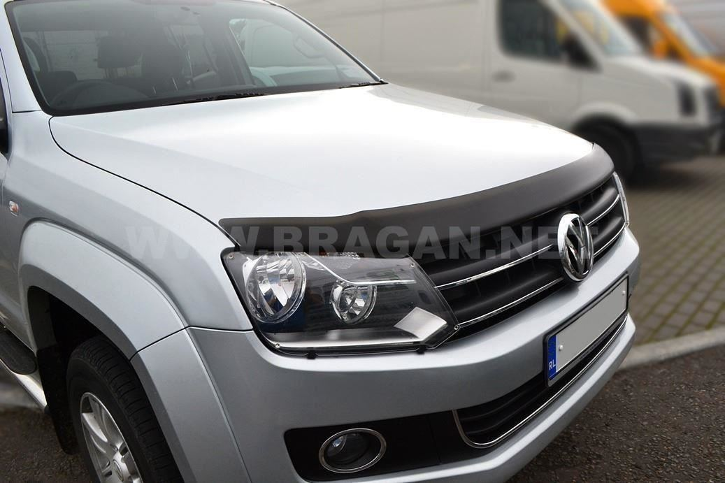 Pour s/'Adapter 2015 Volkswagen Caddy fumé durci Acrylique Capuche Bonnet Guard Shield