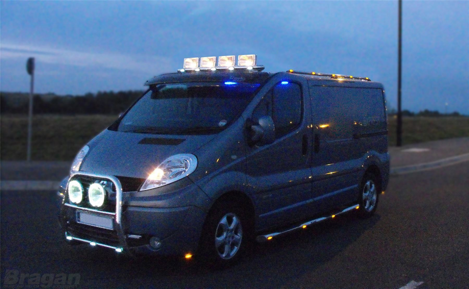 To Fit 07 14 Ford Transit Mk7 Stainless Steel Front Van
