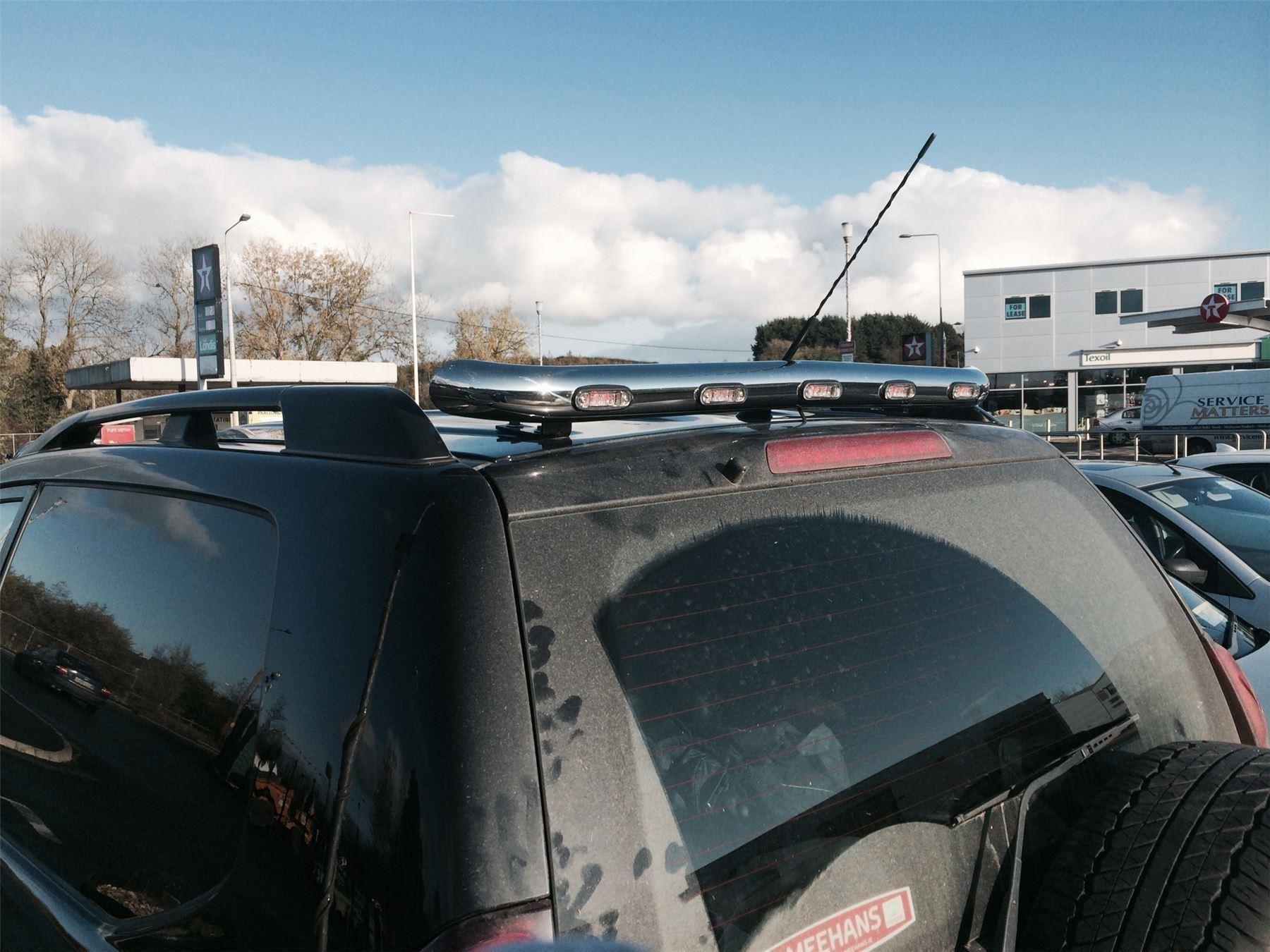 Passend für 2012 - 2016 Ford Ranger Edelstahl Heck Haube Dach ...