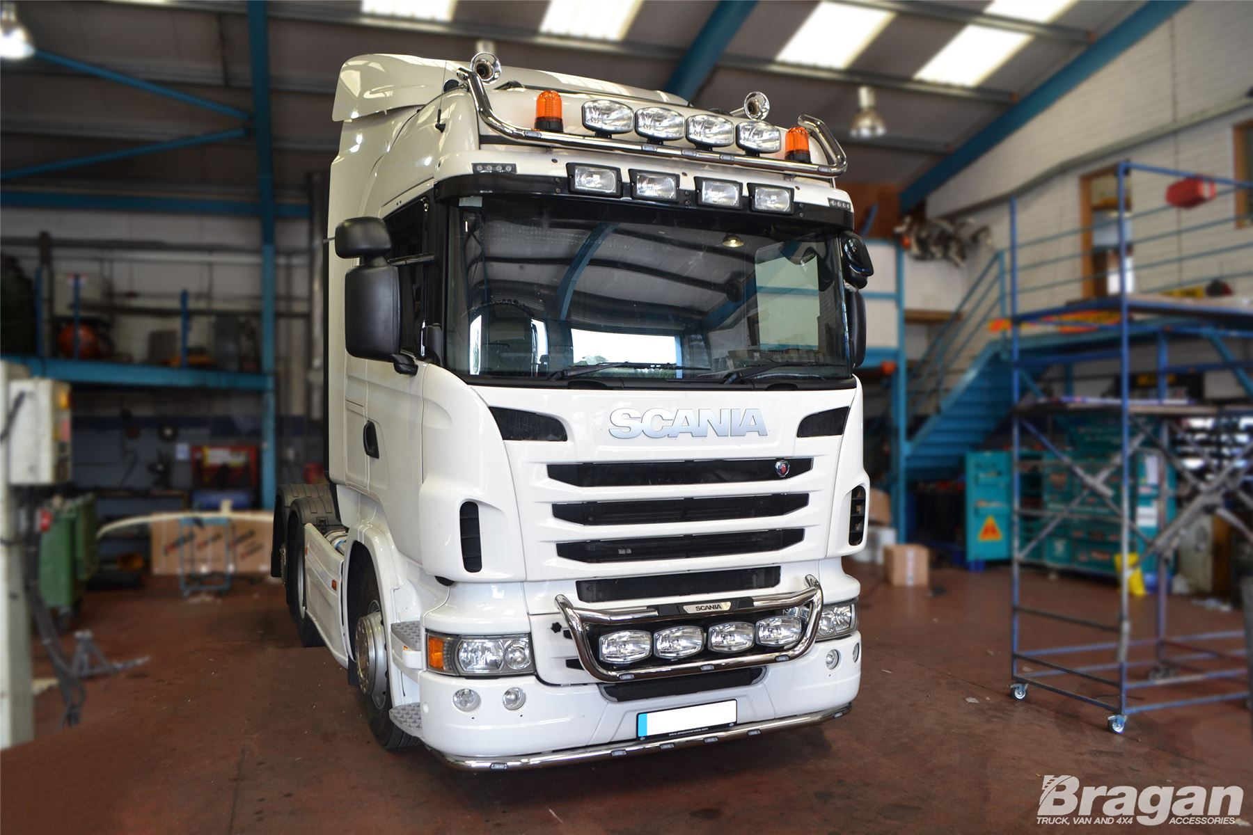 To fit 09 scania p g r 6 series grill light bar c jumbo spot item description aloadofball Choice Image