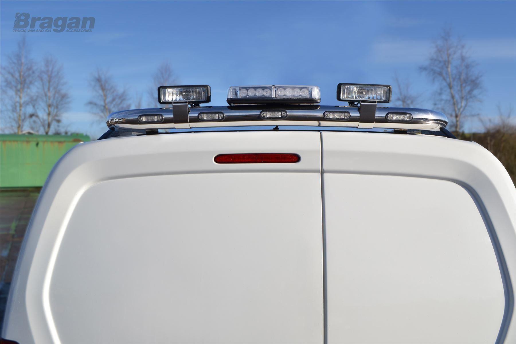 to fit 2008 - 2016 peugeot partner tepee rear roof light bar +