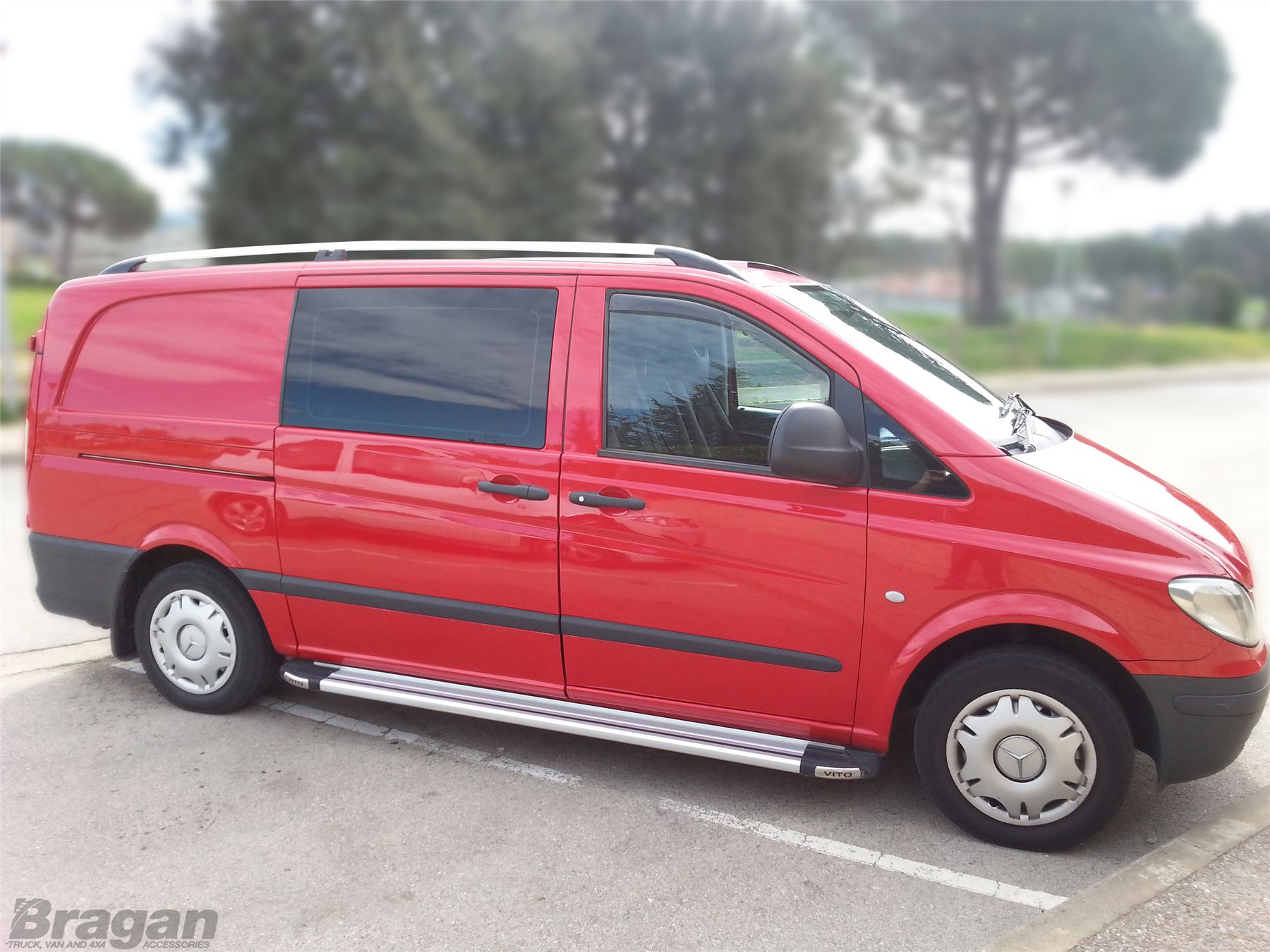 To Fit 2004  2014 Mercedes Vito Viano LWB Aluminium Alloy Roof