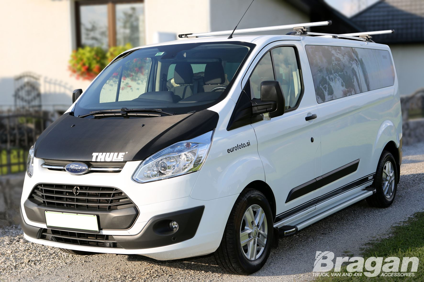 2013 ford transit tourneo custom lwb polished aluminium side running boards ebay. Black Bedroom Furniture Sets. Home Design Ideas