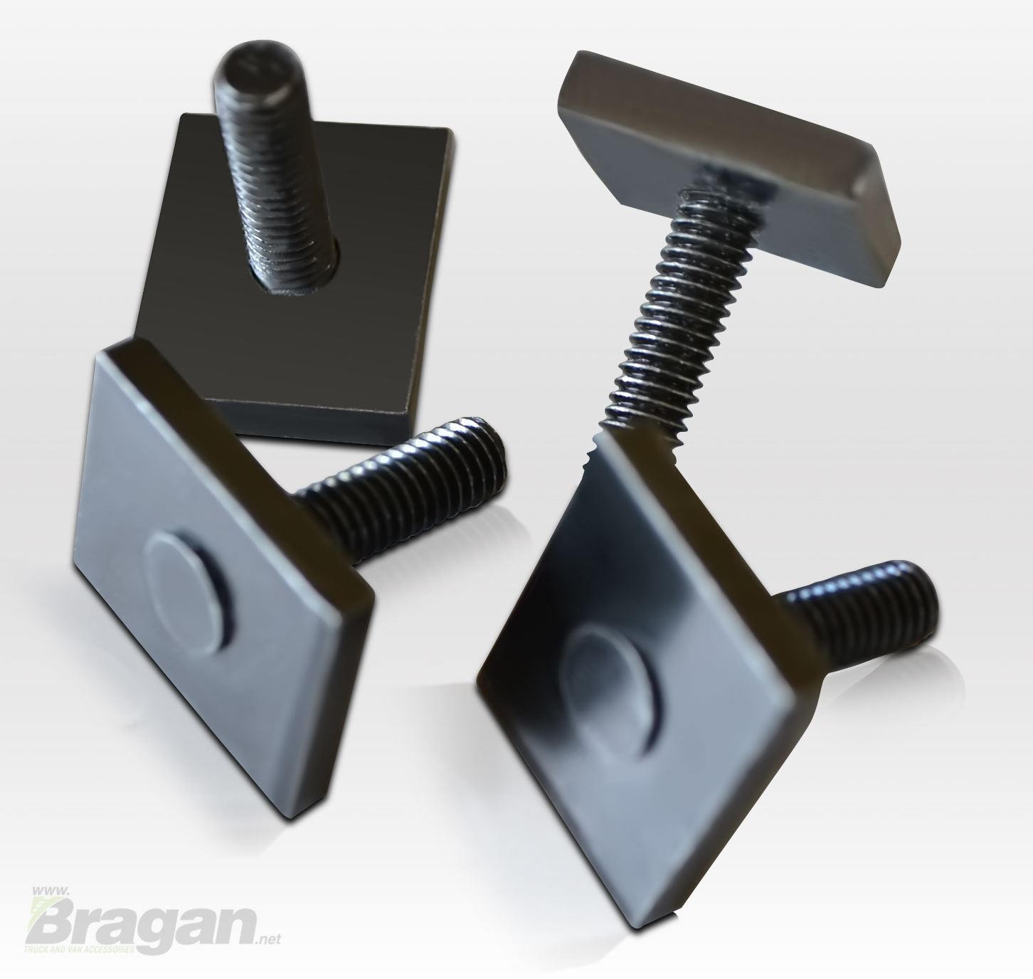 4x Universal Load Stops For Roof Racks Cross Bars With T